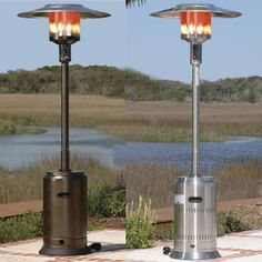 Our Stainless Steel Floor Standing Round Halogen Patio Heater Introduces A  New Revolution In Outdoor Heating. This Halogen Patio Heater Runs On Regu2026