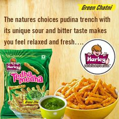 The natures choices pudina trench with its unique sour and bitter taste makes you feel relax - www.harleyfoods.com