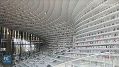 I have always loved libraries and this one does not disappoint.  Another place to add to my bucket list. The Tianjin Binhai Library in northern China.  Designed by the Rotterdam-based architectural firm MVRDV. The five-level library has a total space of 33700 square meters and features floor-to-ceiling terraced bookshelves able to hold 1.2 million books and a large luminous sphere in the center that serves as an auditorium with a capacity of 110 people.  It is nicknamed 'The Eye' because the…