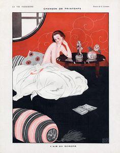Georges Léonnec (1881 – 1940). La Vie Parisienne, 1923. [Pinned 1-viii-2015]