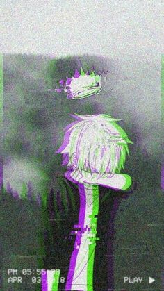 Glitch Wallpaper, Iphone Wallpaper, Pac E Mike, Gothic Anime, Gothic Art, Sad Art, Cute Anime Guys, Anime Scenery, Otaku Anime