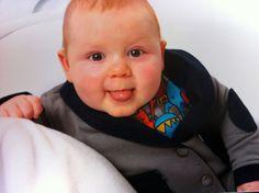 My beautiful 'lil man, baby David!