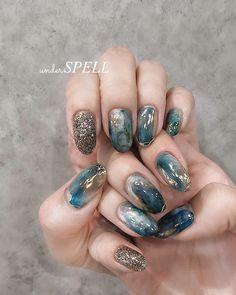 Korean Nail Art, Korean Nails, Fruit Nail Designs, Nail Art Designs, Asian Nails, Nail Ring, Stylish Nails, Cool Nail Art, Nail Arts