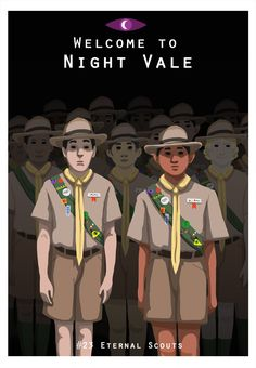 Welcome to Night Vale Eternal Scouts art by kh-arts on Tumblr