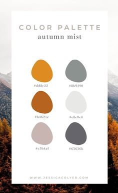design 4 Cozy Color Palettes for Autumn — Jessica Colyer Fall Color Schemes, Fall Color Palette, Colour Pallette, Taupe Color Palettes, Website Color Schemes, Color Schemes For Websites, Website Color Palette, Colour Combo, Palette Design
