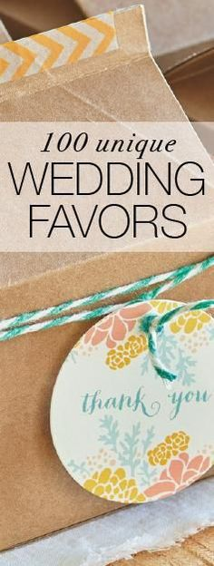 Find the perfect wedding favor that matches your wedding styled and theme. Whether you're a foodie or a DIY bride, we've curated 100 wedding favor ideas that will inspire you for your big day.