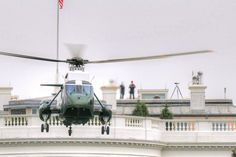 attend Marine One landing at the White House...maybe next year