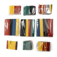 1m Long Heat Shrink Tube 2:1 Wire C/âble Tubing Sleeving Wrap Clair 5mm Dia