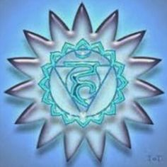 #Mandala del #Chakra de la garganta #Reiki #salud #vida #ArtAbalori #joyas