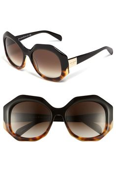 kate spade new york Oversized retro sunglasses available at Nordstrom