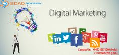 SDAD Technology, Best Digital Marketing Company in India, Delhi Ncr Which provides all the digital marketing solutions in India.We are best digital marketing agency in delhi ncr. Top Digital Marketing Companies, Marketing Goals, Marketing Training, Marketing Strategies, Content Marketing, Online Marketing, Best Web Development Company, What Is Digital, Web Design