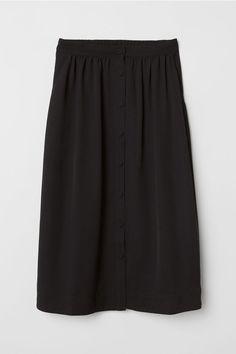 Rozszerzana spódnica - Czarny - ONA | H&M PL rozm 34