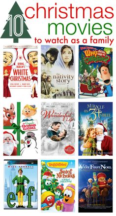 So many good ones! Check out our favorite Christmas movies (that you can watch together as a family)!