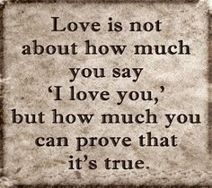 Love Is Not