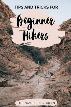 Tips and Tricks For Beginner Hikers Camping Essentials List, Travel Essentials, Travel Tips, Travel Hacks, Travel Guides, Travel Destinations, Hiking Tips, Camping And Hiking, Kayak Camping