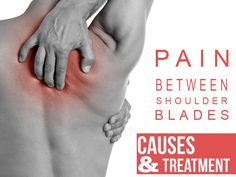 All About Pain Between Shoulder Blades (causes&treatment)