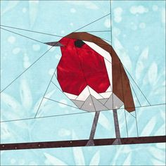 Robin- A 12 Inch Paper Pieced Pattern