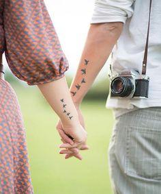 Best Matching Couple Tattoo Ideas