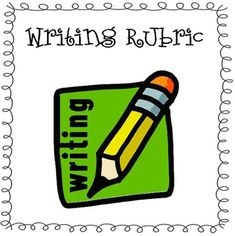 These two writing rubrics were designed to grade my students writing. The first one can be used at the beginning of first grade, or with developing writers. The second rubric is great for the second half of first grade, or for really strong writers. 1st Grade Writing, Work On Writing, Writing Classes, Report Writing, Writing Lessons, Writing Workshop, Kids Writing, Teaching Writing, Writing Skills