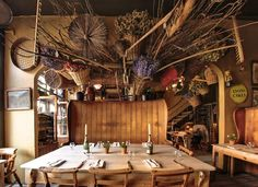 Maggie Jones, Kensington. Quite possible our favourite restaurant in all of London.