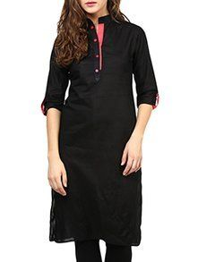 Check out what I found on the LimeRoad Shopping App! You'll love the black cotton kurta. See it here http://www.limeroad.com/products/9698961?utm_source=7168568ab3&utm_medium=android