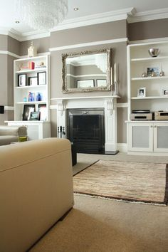LIVING ROOM & FAMILY ROOM – contemporary family room by Holly Marder