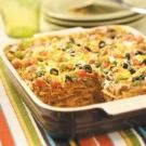 Mexican Lasagna..?? We call this enchilada casserole not lasagna. Anyway, gotta make a healthy version of those for sure!