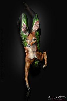 Httpshannonholtartcom Shannon Holt Art Pinterest Body - Artist turns humans amazing animal portraits using body paint