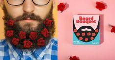 [TOPITRUC] Des roses pour décorer ta barbe Flower Beard, Rose, Bouquet, Shopping, Ideas, Moda Masculina, Grow A Beard, Beard Man, Necktie Knots