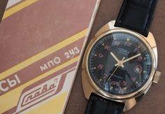 Slava 29J Automatic Date Russian USSR Watches Mechanical Mens Cal.S2416 #Slava #Casual