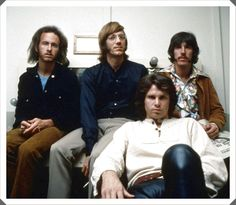 """""""Nobody understands you better than yourself, but if someone tries to do it is because he loves you."""" ― Jim Morrison. The Doors band, John Densmore, Robby Krieger, Raymond Manzarek, and James Douglas """"Jim"""" Morrison ☮ [Dec 8, 1943 ― July 3, 1971] ♡ The Doors. #JimMorrison #TheDoors #Music #Rock #Legend #Pamela #Courson #Quotes"""