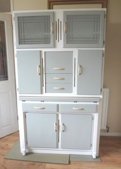 [ Antiques Atlas Kitchen Larder Cabinet Antiques Atlas Kitchen Larder Cabinet ] - Best Free Home Design Idea & Inspiration Kitchen Cabinets 1950s, Kitchen Larder Cupboard, Kitchen Dresser, Kitchen Cabinet Design, 1950s Kitchen, Kitchen Furniture, Hoosier Cabinet, Plywood Furniture, Bedroom Furniture Redo