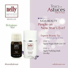 Tips & Tricks: A pimple on New Year's Eve?  Don't carry Nelly in your salon or spa? Find out how by contacting Mark 630 404 9913 remark@ facefirstsupply.com www.facefirstsupply.com #nellydevuyst #lovenellydevuyst #skincare #beautycare #esthetician  #salons  #spaowner #instagood  #instafollow  #pictureoftheday