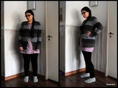 Knitted alpaca cardigan with pockets and wood buttons