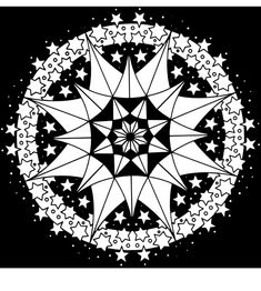 Kaleidoscope Designs Stained Glass Coloring Book Dover Publications Samples