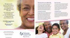 University of Mississippi Medical Center, University Cancer Care, Breast Services - full-color brochure (March 2014) http://ummchealth.com/
