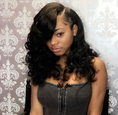 657 Best Sew In Hairstyles images | Extensions, Black girls ...