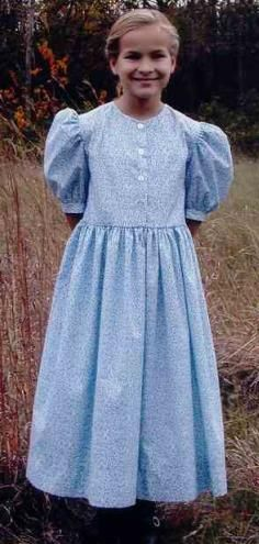 Christian Modesty: Modest Clothing. This is so Little House on the Prairie!