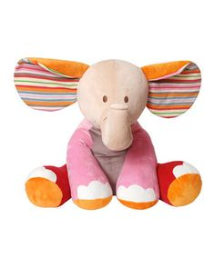 """""""Gaby"""" Giant Stuffed Elephant  by Geared for Imagination at Neiman Marcus."""