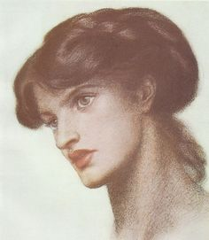 Dante Gabriel Rossetti (1828-1882) , Portrait of Mrs. Stillman (Marie Spartali Stillman) by sofi01, via Flickr