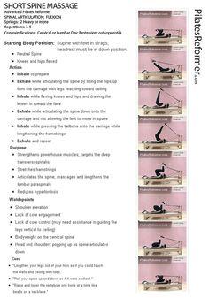 My favorite way to stretch - Pilates Reformer