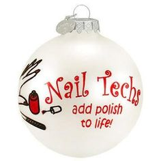 Cool Gift Idea For A Nail Tech At Christmas Time