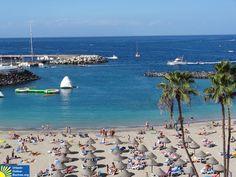Strand Porto Colon, Teneriffa, Kanarische Inseln, Spanien: http://www.urlaub-online-buchen.org/sommerurlaub/spanien/teneriffa.html