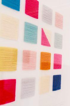 Wool On Canvas: Artwork by Jane Denton