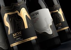 McWilliam's Wines 'McW' Range on Packaging of the World - Creative Package Design Gallery Wine Bottle Design, Wine Label Design, Wine Bottle Labels, Bottle Opener, Wine Packaging, Packaging Design, Branding Design, Logo Label, Wine Brands