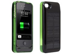 Hybrid iPhone 4/4S Solar Charger Case  by MONSTER WATTS