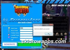 New and working Dragomon Hunter Hack Tool. From now generate Gold Coins and AP - Aeria Points for free. To obtain this cheats tool Follow us. Share This Link. And Visit on the http://skidrowapps.com/dragomon-hunter-hack/