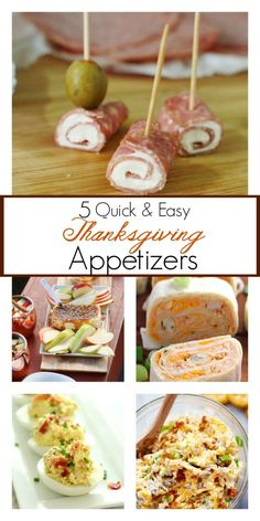 Quick easy recipes for thanksgiving dinner