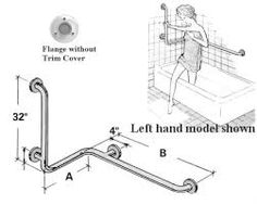 Toilet Grab Bar Locations location of grab bars behind toilet - google search | are study