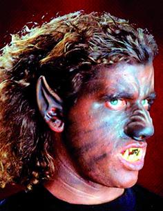 Latex-Application Werwolf Nose
